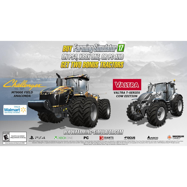 Walmart Exclusive: Farming Simulator 17 (Xbox One)