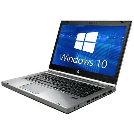 Refurbished HP Elitebook 8470p Laptop WEBCAM, Intel Core i5 2 6GHz, 8GB  DDR3, 500GB SATA HDD, DVD, Windows 10 Home 64bit w/ Restore Partition