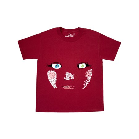 Monster Faces Baby Doll Youth T-Shirt Goddess Baby Doll T-shirt