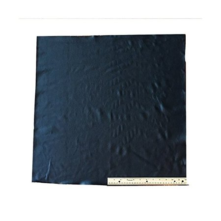 A-1 Upholstery Leather Cowhide Black, Light Weight Grade A, 4 Square Feet, 24 X 24 Inches