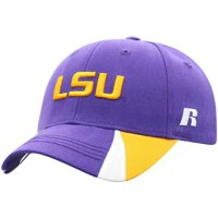 Youth Russell Athletic Purple LSU Tigers Bolt Adjustable Hat - OSFA