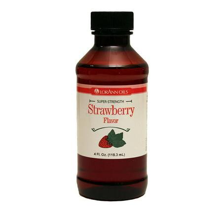 LorAnn Strawberry Super Strength Flavor 4 oz