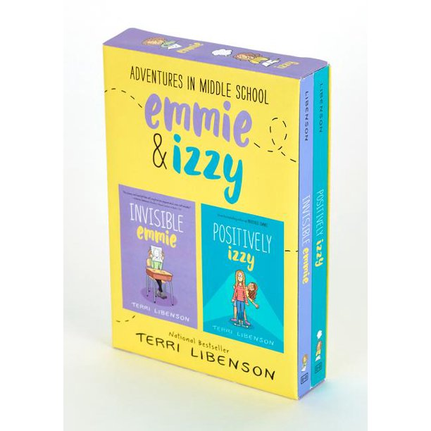 Emmie & Friends: Adventures in Middle School 2-Book Box Set: Invisible Emmie and Positively Izzy (Other)