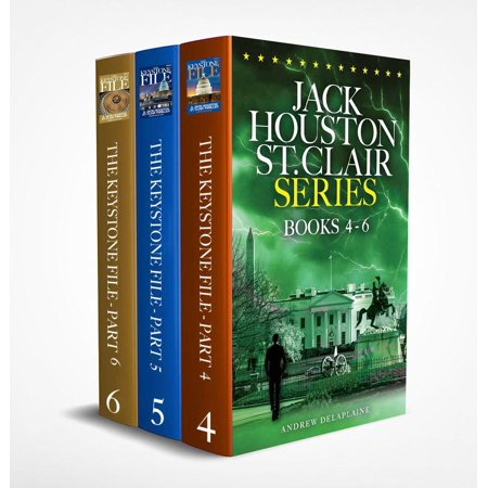 Jack Houston St. Clair Series (Books 4-6) - eBook ()
