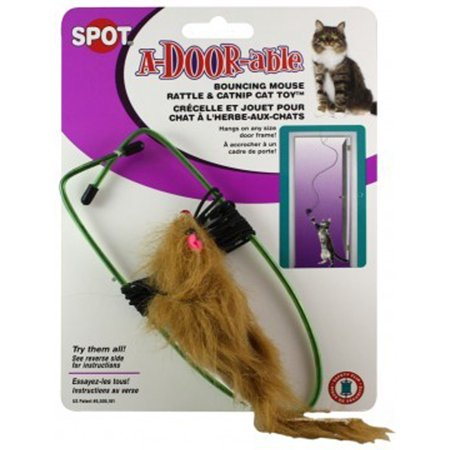 Spot A-Door-Able Bouncing Cat Toy