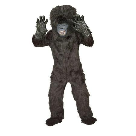 Gorilla Child Costume - Large (12/14) - Gorilla Costume Cage