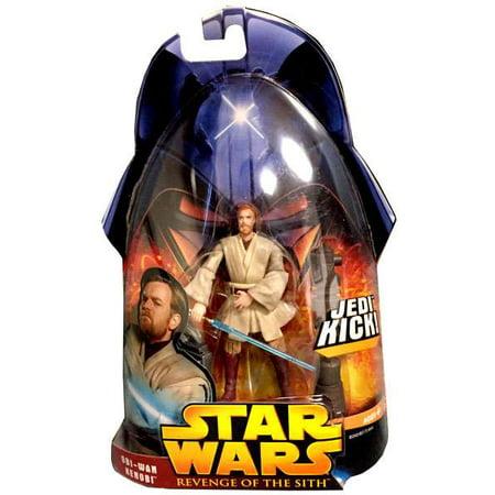 Star Wars Revenge of the Sith 2005 Obi-Wan Kenobi Action