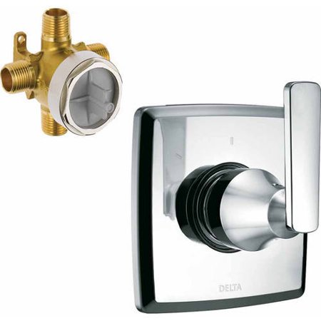 Delta Ashlyn Three Function Diverter Valve Trim, Available in Various Colors (Deck Mount Diverter Valve Trim)