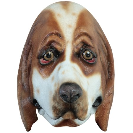 Basset Hound Mask Adult Halloween Accessory