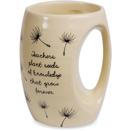 Dandelion Wishes   Teachers Plant Seeds Of Knowledge That Grow Forever Ceramic Hand Warmer Mug