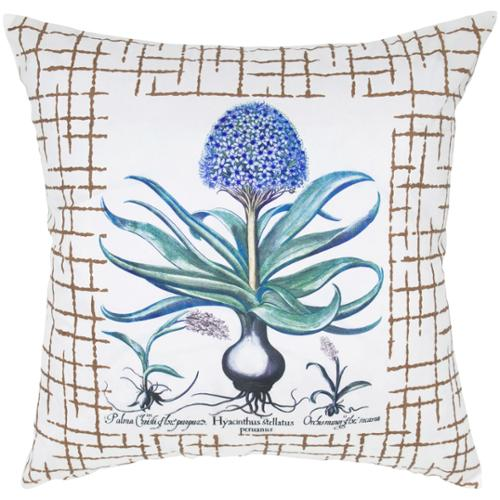 Room with a View Hydrangea 20-inch Decorative Feather and Down-filled Throw Pillow