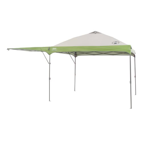 Coleman 10' x 10' Instant Straight Leg Canopy/Gazebo with Added Swing Wall (100 sq. ft Coverage)