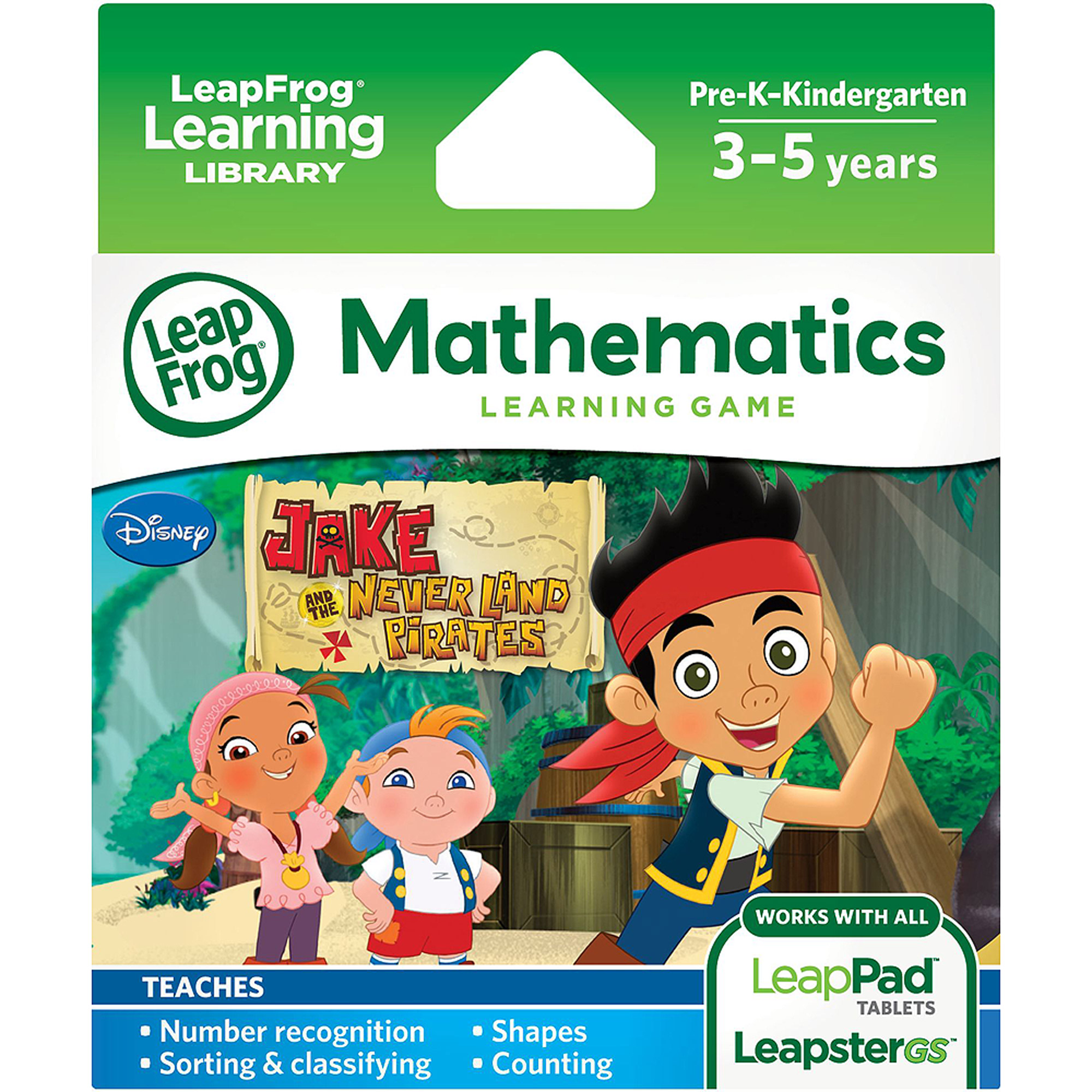 LeapFrog Explorer Learning Game: Jake and the Never Land Pirates