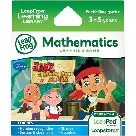 Math Explorer - LeapFrog Explorer Learning Game: Jake and the Never Land Pirates