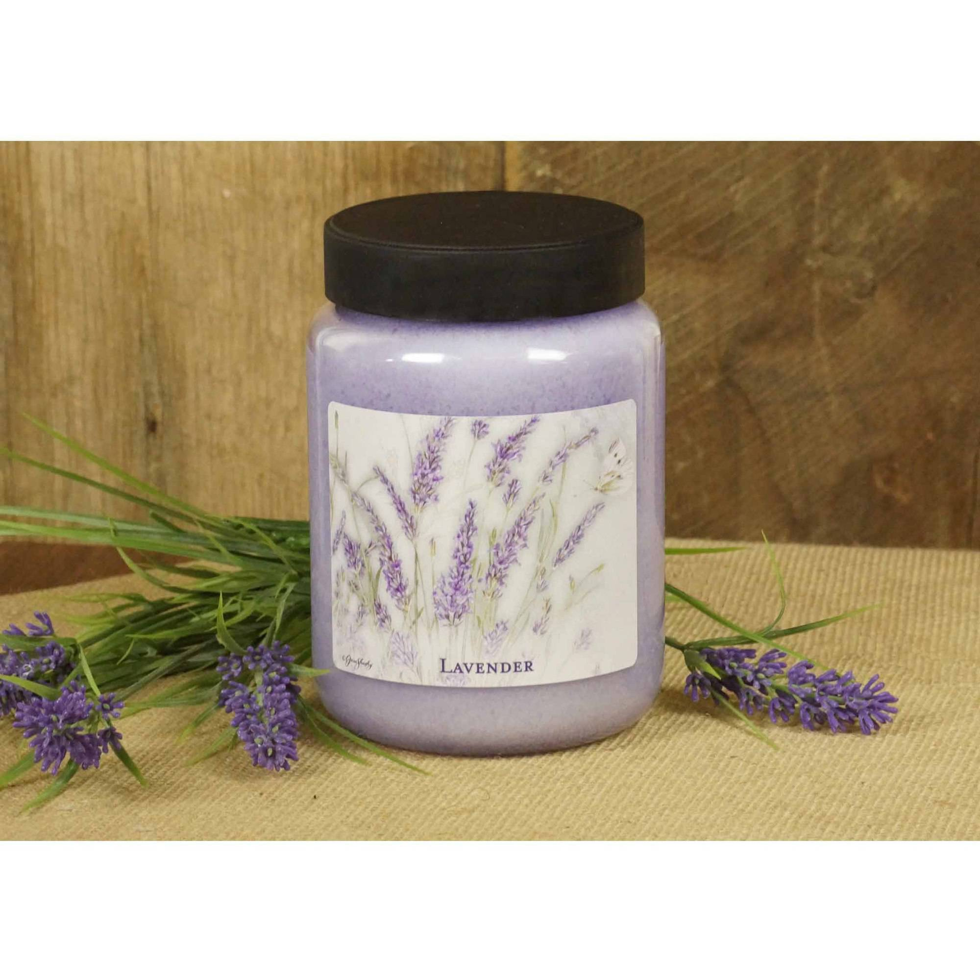 LANG Lavender 26-Ounce Jar Candle, Scented with Light Lavender and Fresh Herbs