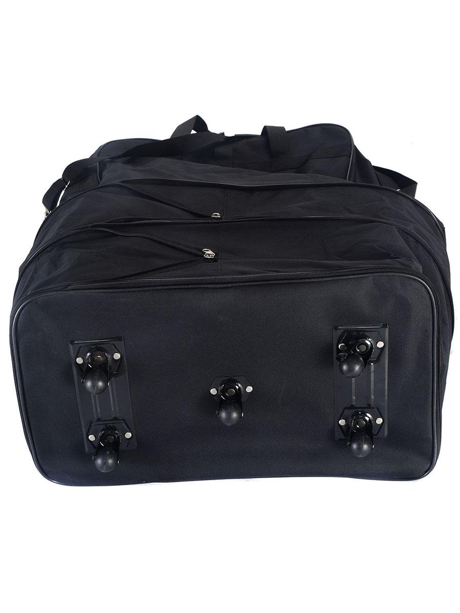Costway - 40   Rolling Wheeled Duffel Bag Spinner Suitcase Spinning Luggage  Black - Walmart.com c71da45273571