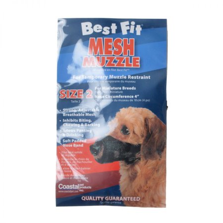 Nylon Fabridog Best Fit Muzzle Size 2 (Dogs 7-12