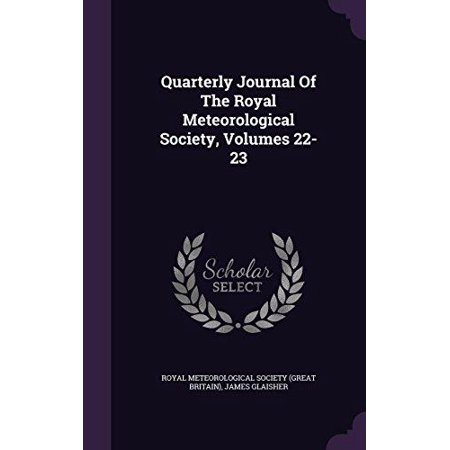 Quarterly Journal of the Royal Meteorological Society, Volumes 22-23 - image 1 of 1