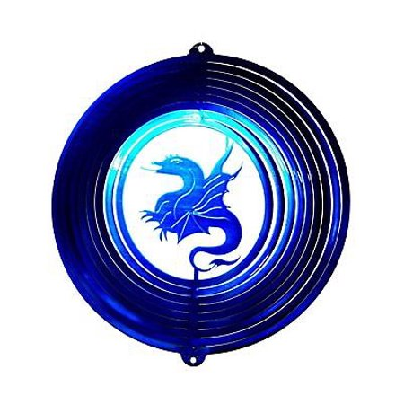 "12"" Wind Spinner Dragon Thrones Hanging Garden Decor Art Chimes Sock Gift thumbnail"