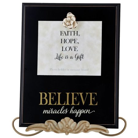 CB Gift Believe Picture Frame - Walmart.com