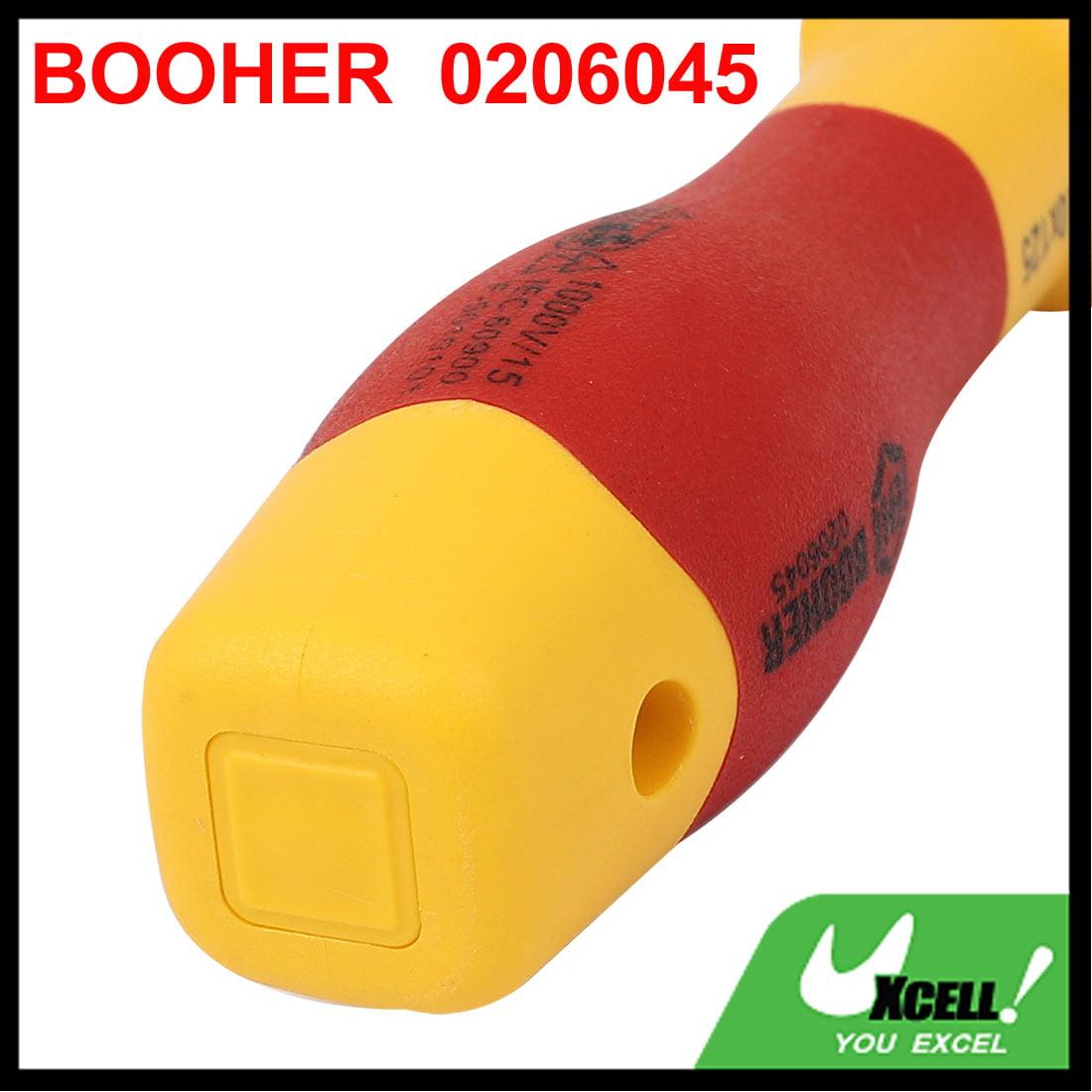 booher VDE Prise hexagonale 4mm 125mm de longueur isolée écrou Tournevis - image 5 de 6