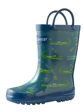 7205381b2b0 Boys Rain Boots - Walmart.com