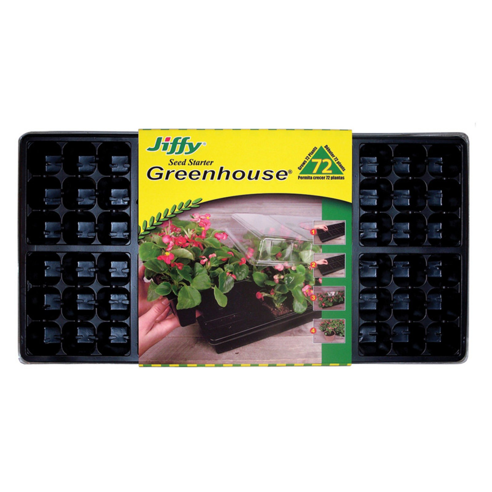 Jiffy T72H Jiffy Easy Grow Greenhouse