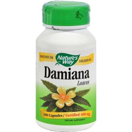 Nature's Way Damiana Leaves - 100 Capsules Damiana Leaves 100 Capsules