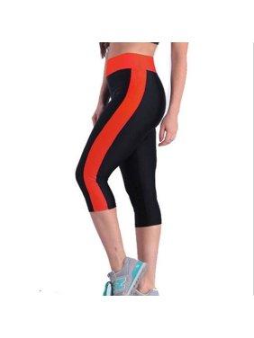 9fd7f79e4e9cf Product Image Women's Yoga Running Pants High Waist Cropped Leggings Fitness  Outdoor Sports Pants