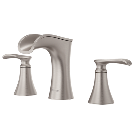Pfister LF-049-JD Jaida 1.2 (GPM) Widespread Bathroom Faucet with Pop-Up Drain Assembly - Spot Defense Brushed Nickel