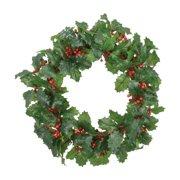 Fantastic Craft Holly Wreath