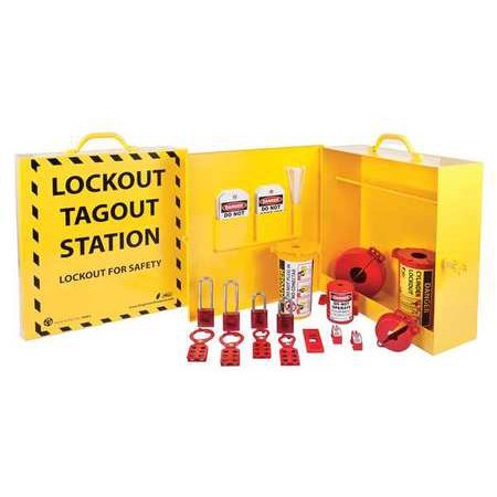 Complete Lockout Station (ZING 2722 Lockout Station ,Filled,Electrical )