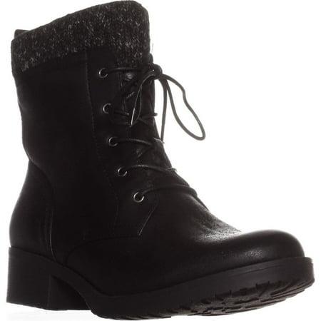 Womens BareTraps Onnabeth Combat Boots, Black](Clearance Combat Boots)