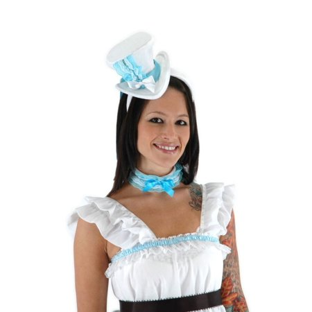 Alice Hat and Collar Set Adult Halloween Accessory