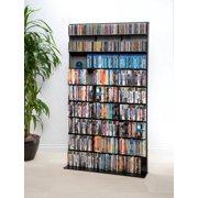 "Atlantic 71"" Elite Media Tower Storage Wall Shelf (528 DVDs, 837 CDs, 624 Blu-rays)"