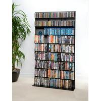 Product Image Atlantic 71 Elite Media Tower Storage Shelf Large 528 DVDs 837 CDs
