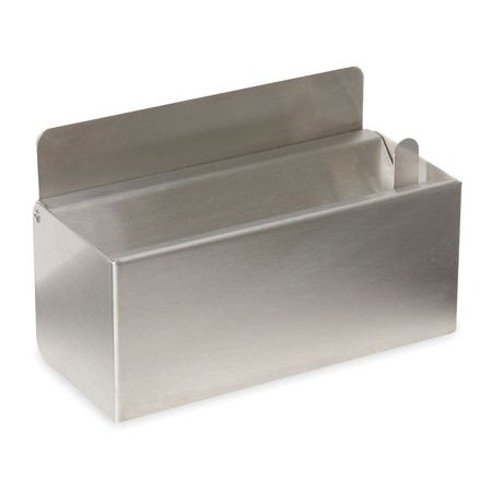 Tough Guy 1ECK8 - Stainless Steel Wall Urn Ash Tray