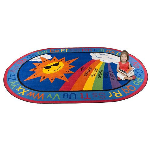 Kid Carpet Sky's the Limit Learning Area Rug