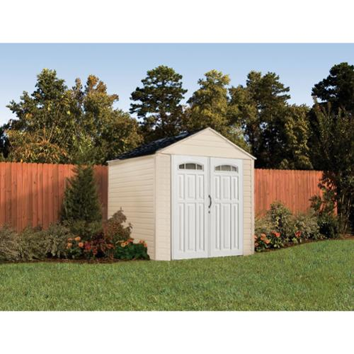 Rubbermaid Roughneck XL 7'x7' 325 Cu.Ft. Outdoor Storage Building Shed