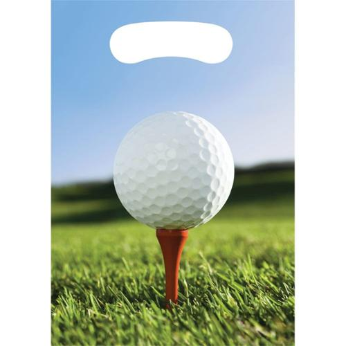 Golf Loot Favor Bags (8 Pack) - Party Supplies