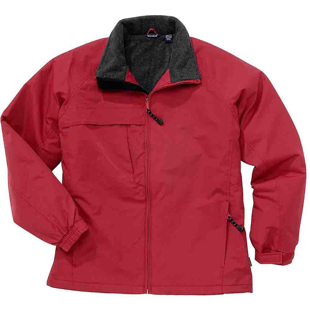 River's End Fleece Lined Jacket - Red - Mens