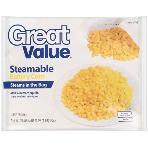 Great Value: Steamable Buttery Corn, 16 Oz