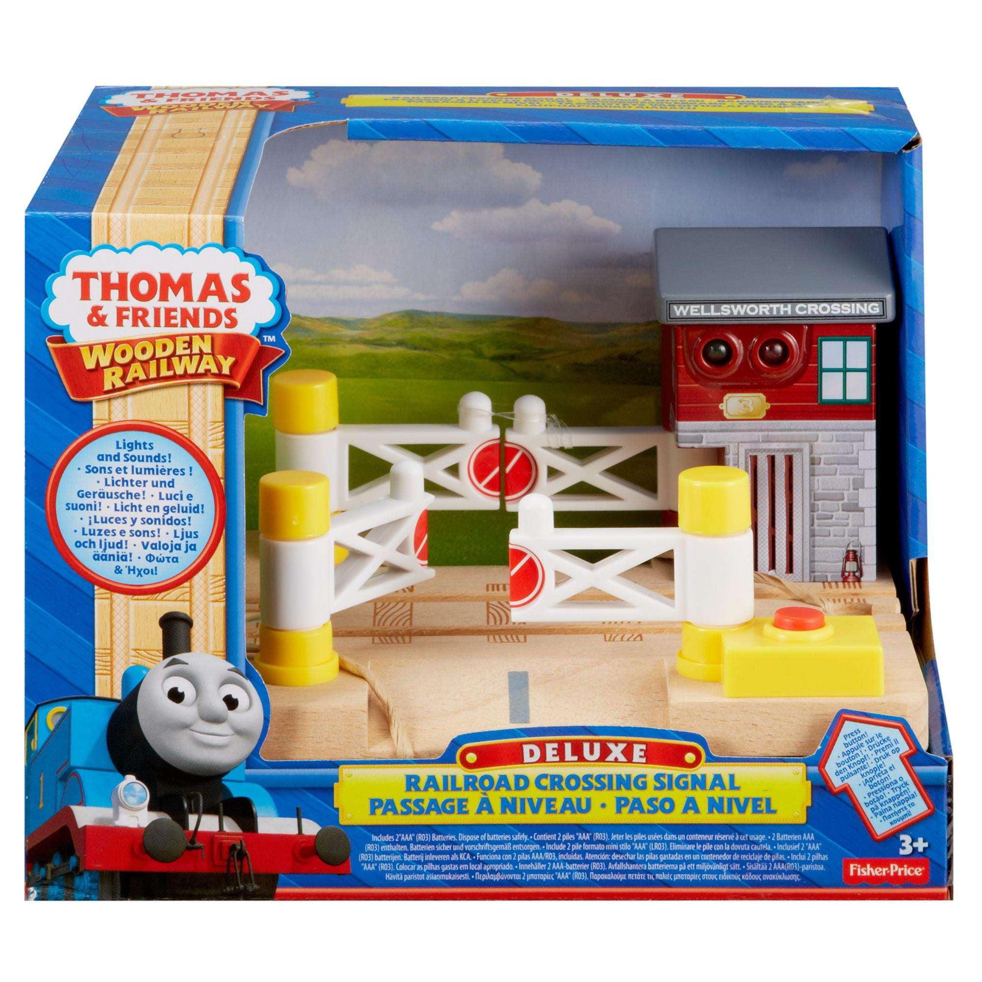 Thomas & Friends Wooden Railway Deluxe Railroad Crossing
