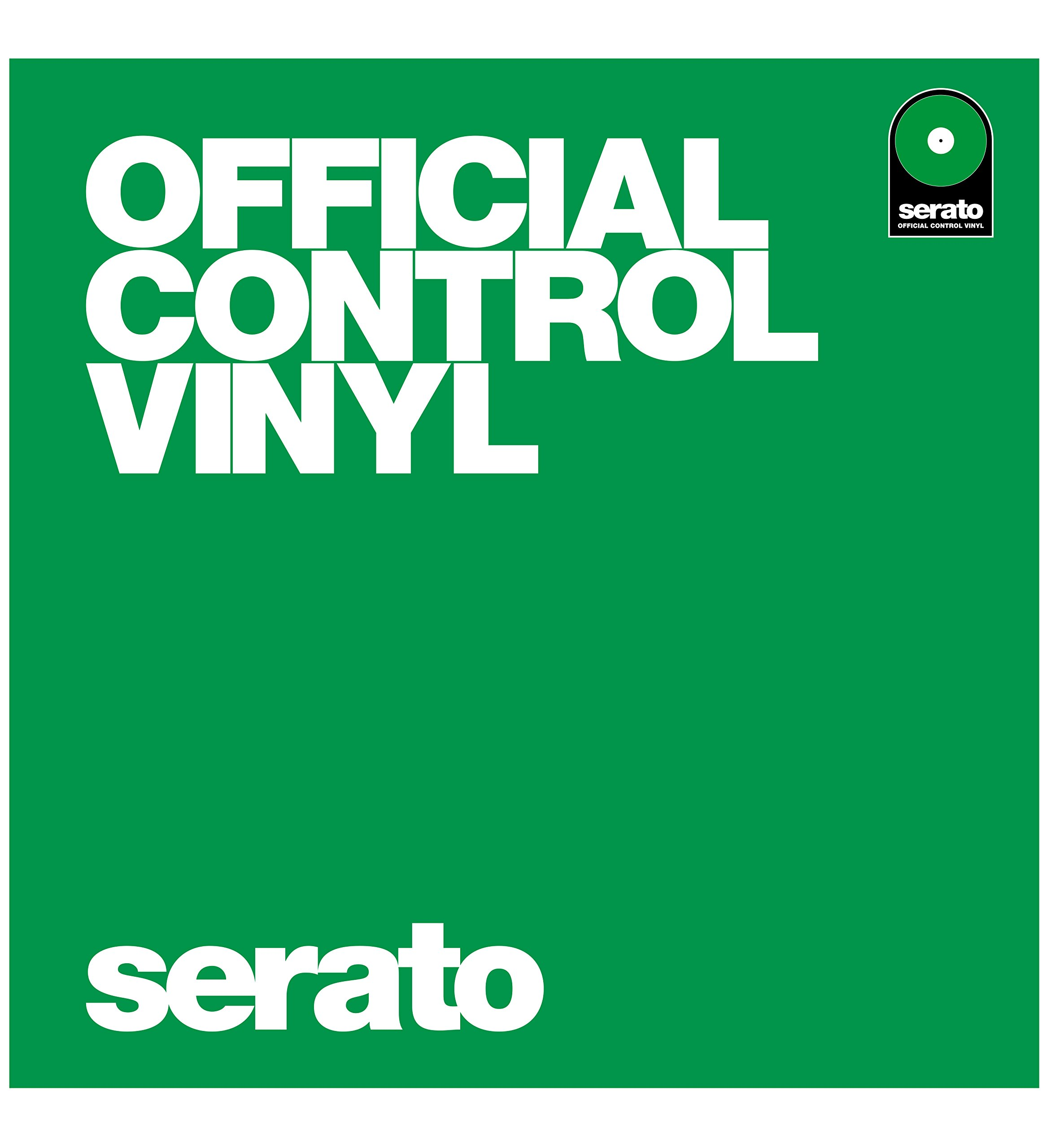 "Serato SCV-PS-GRN-OV 12"" Serato Performance Series Green"