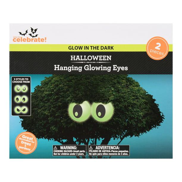 Glow in The Dark Halloween Eyeballs Party Supplies Table Bar Decorations 12 Pcs