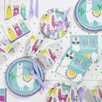 Llama Party Supplies Kit