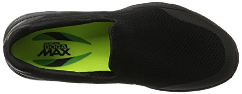 54152 bbk Noir  sketchers chaussures marche 4 hommes sportive confort tennis confort sportive occasionnel maille 013ef5