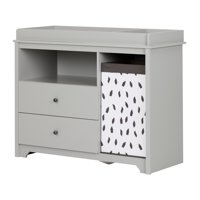 Deals on South Shore Vito Changing Table w/2 Drawers and Basket