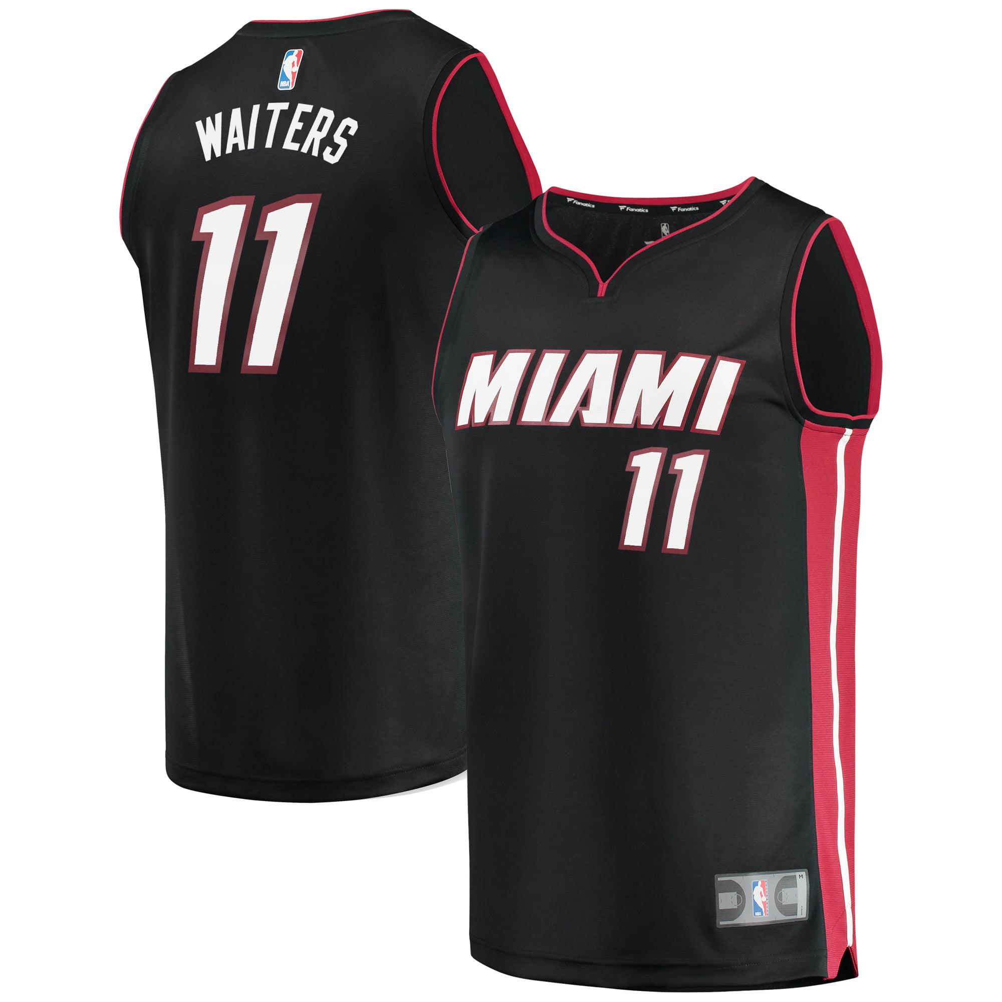 Dion Waiters Miami Heat Fanatics Branded Fast Break Replica Player Jersey - Icon Edition - Black