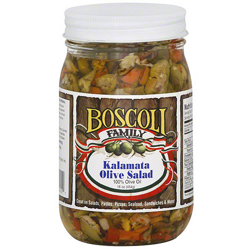 Boscoli Family Kalamata Olive Salad, 16 oz (Pack of 6)
